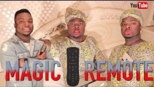 Comedy Video: Samspedy – African Home: Magic Remote (Part 1)